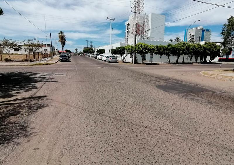 calle vacía la paz