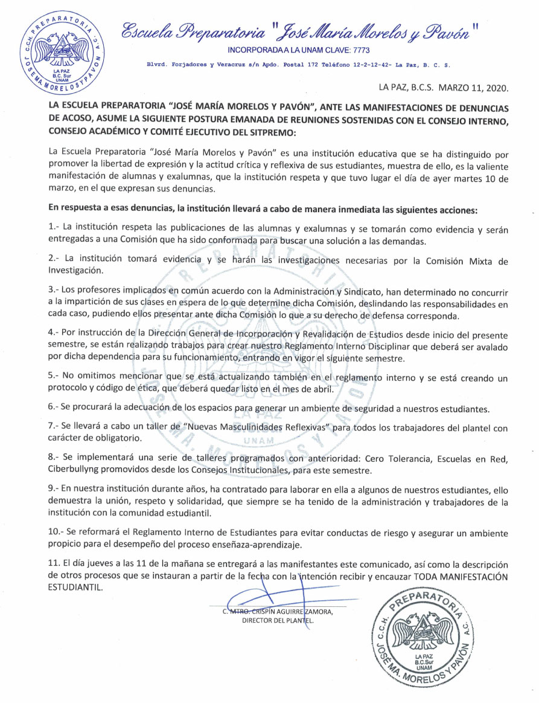 Preparatoria Morelos La Paz