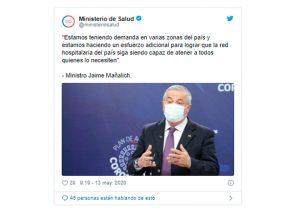 Minisitro salud Chile