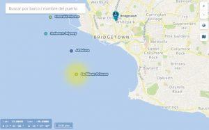 mapa Vallarta crucero